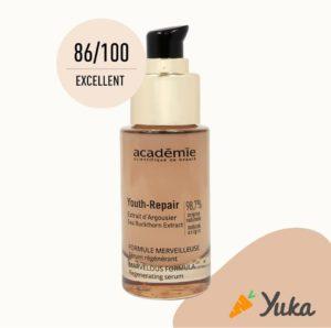 Envie de transparence? Découvrez Youth-Repair... des formules propres et naturelles, des matériaux durables , fabriqués en France 🇫🇷 Notés par Yuka...alors n'attendez plus...venez tester et laissez votre peau apprécier 🥰🥰